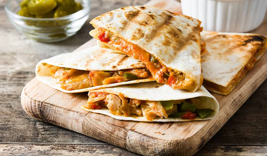 Quesadillas | Cafe Orleans | Quick dining options at Mardi Gras Casino