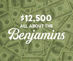 $12,500 All About The Benjamins