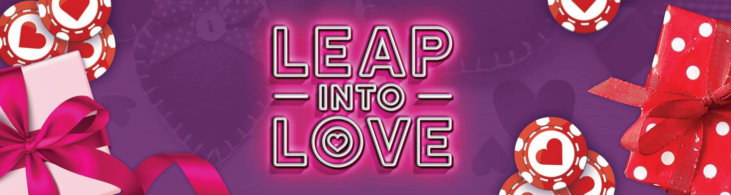 Leap Into Love | Casino Free Play Offer at Mardi Gras Casino & Resort
